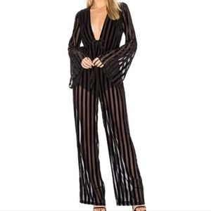 House of Harlow 1960 X Revolve Pam Jumpsuit NWT
